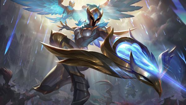 德玛西亚之翼光明骑士奎因皮肤和炫彩皮肤免费解锁方法